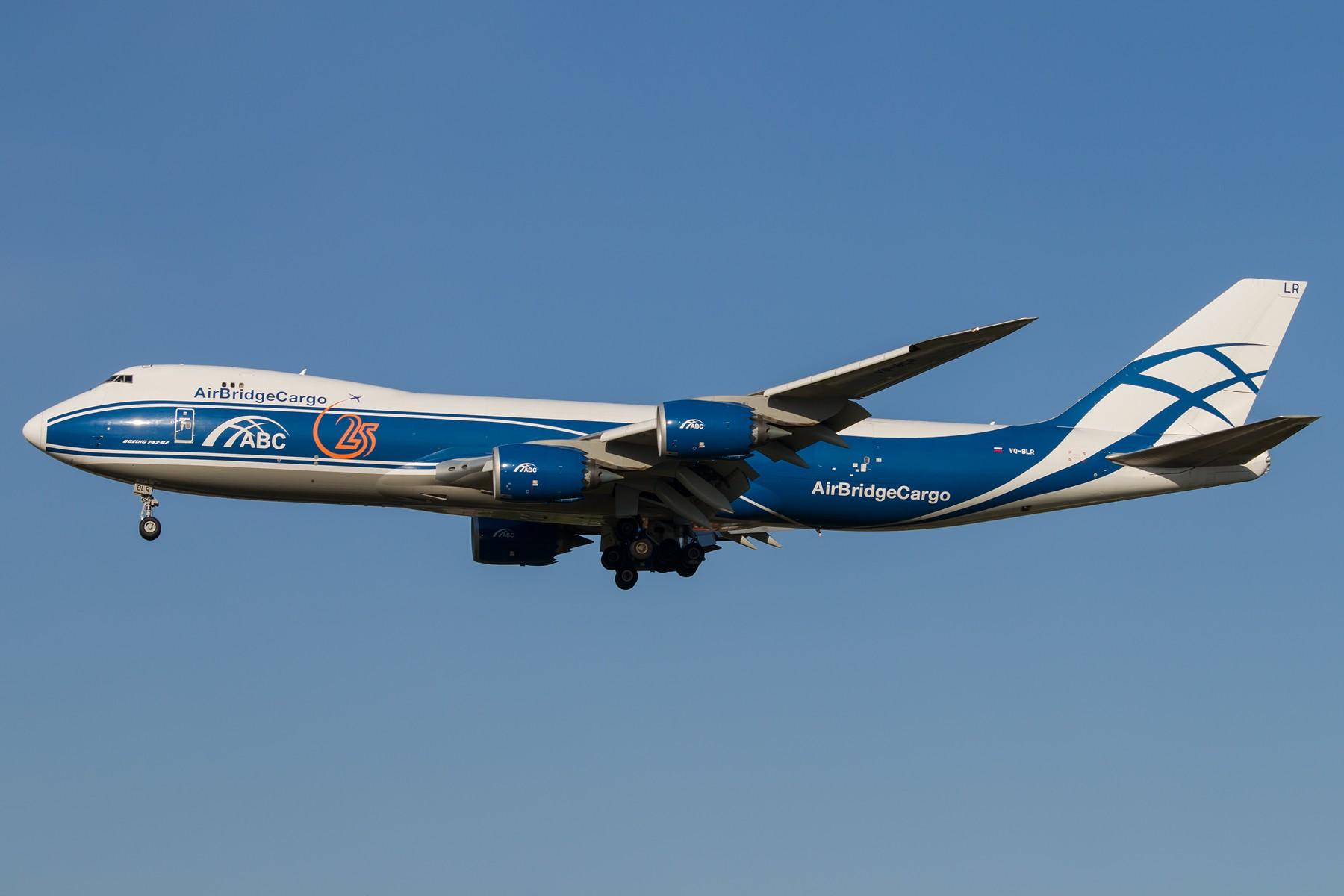 ABC 1800*1200 BOEING 747-8HVF VQ-BLR 中国北京首都国际机场