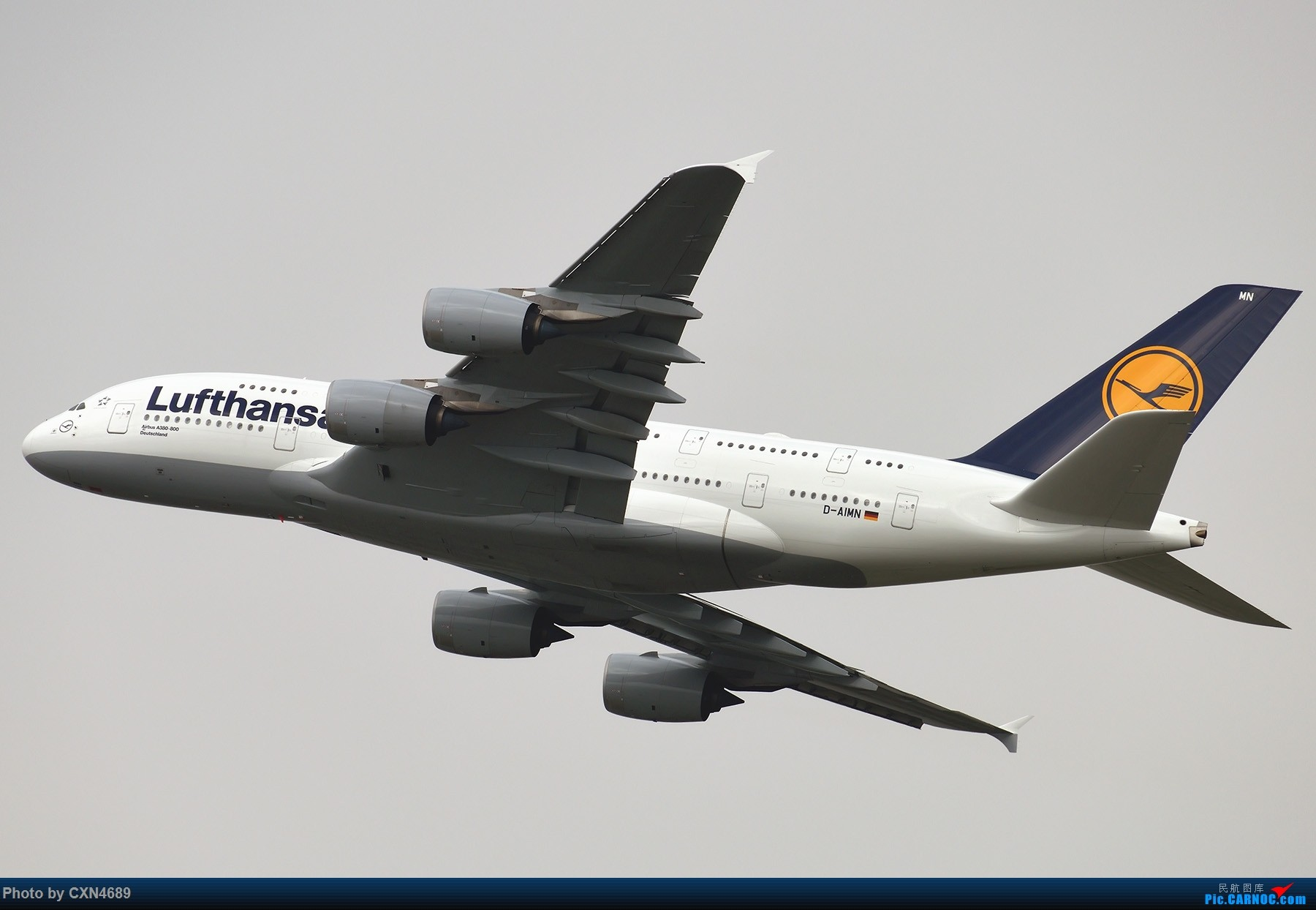 Re:[原创]【BLDDQ】试机就要水泥雷雨加超远,D500+200-500试图 AIRBUS A380-800 D-AIMN 中国上海浦东国际机场