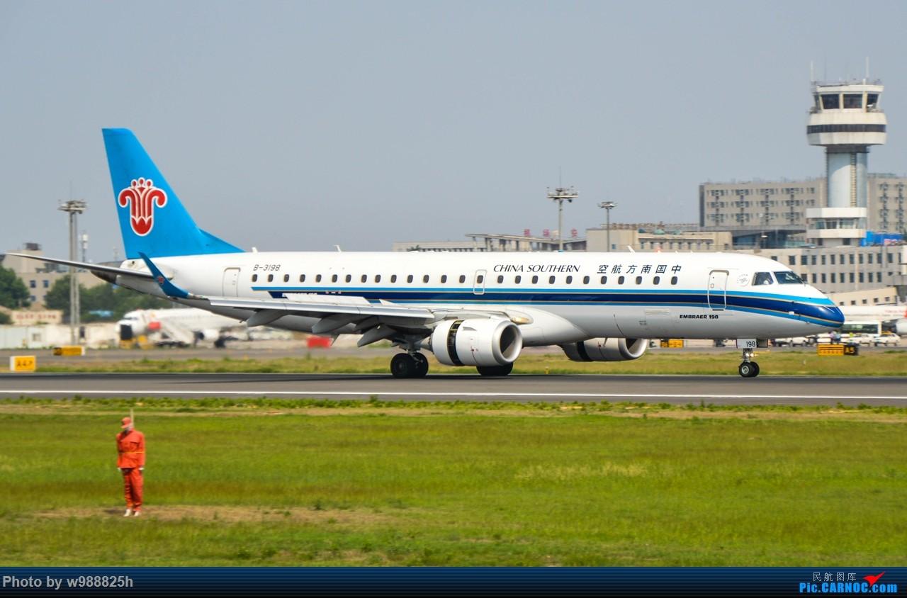 Re:[原创]XIY毕业拍机庆祝一下~下次去就不知道什么时候咯~ EMBRAER E-190 B-3198 中国西安咸阳国际机场