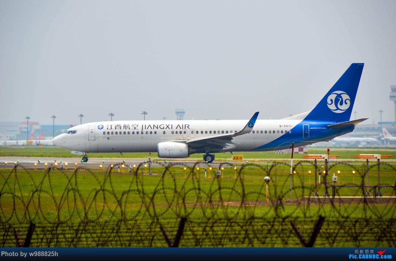 Re:[原创]XIY毕业拍机庆祝一下~下次去就不知道什么时候咯~ BOEING 737-800 B-5511 中国西安咸阳国际机场