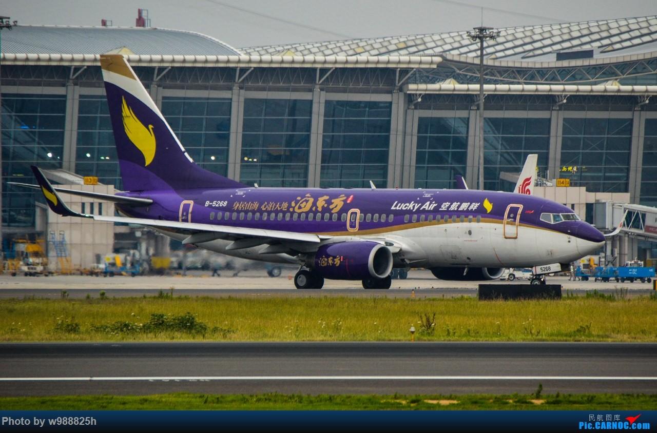 Re:[原创]XIY毕业拍机庆祝一下~下次去就不知道什么时候咯~ BOEING 737-700 B-5268 中国西安咸阳国际机场
