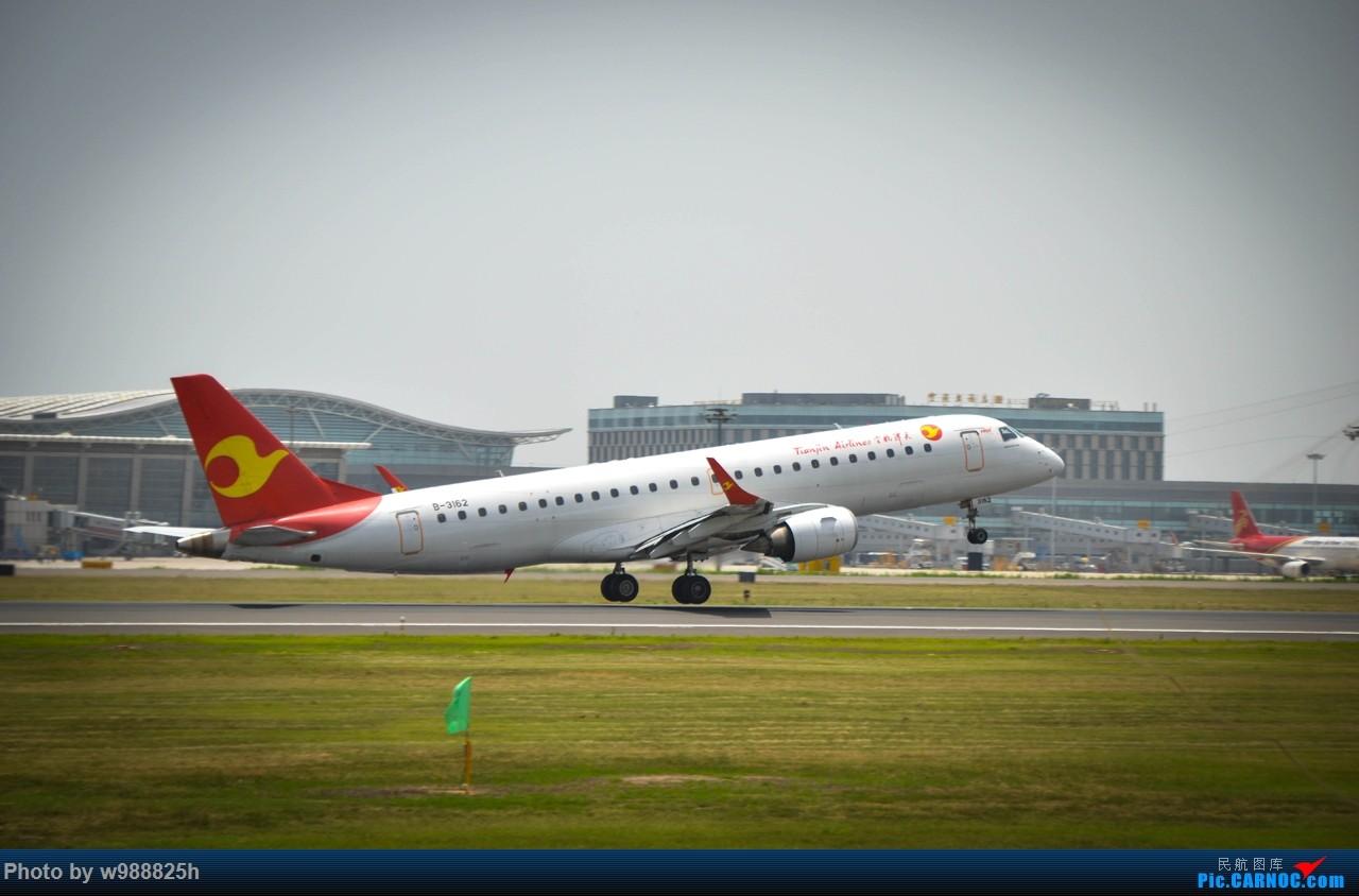 Re:[原创]XIY毕业拍机庆祝一下~下次去就不知道什么时候咯~ EMBRAER E-190 B-3162 中国西安咸阳国际机场