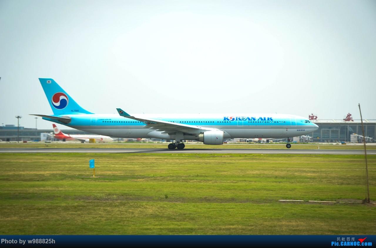 Re:[原创]XIY毕业拍机庆祝一下~下次去就不知道什么时候咯~ AIRBUS A330-300 HL7585 中国西安咸阳国际机场