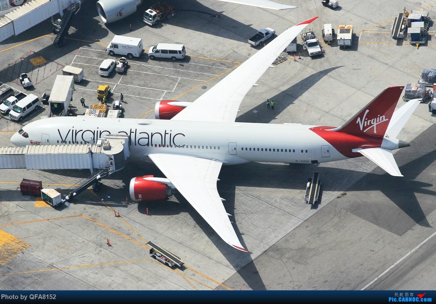 [原创]也算是实现一个愿望了 BOEING 787-9 G-VZIG 洛杉矶国际机场