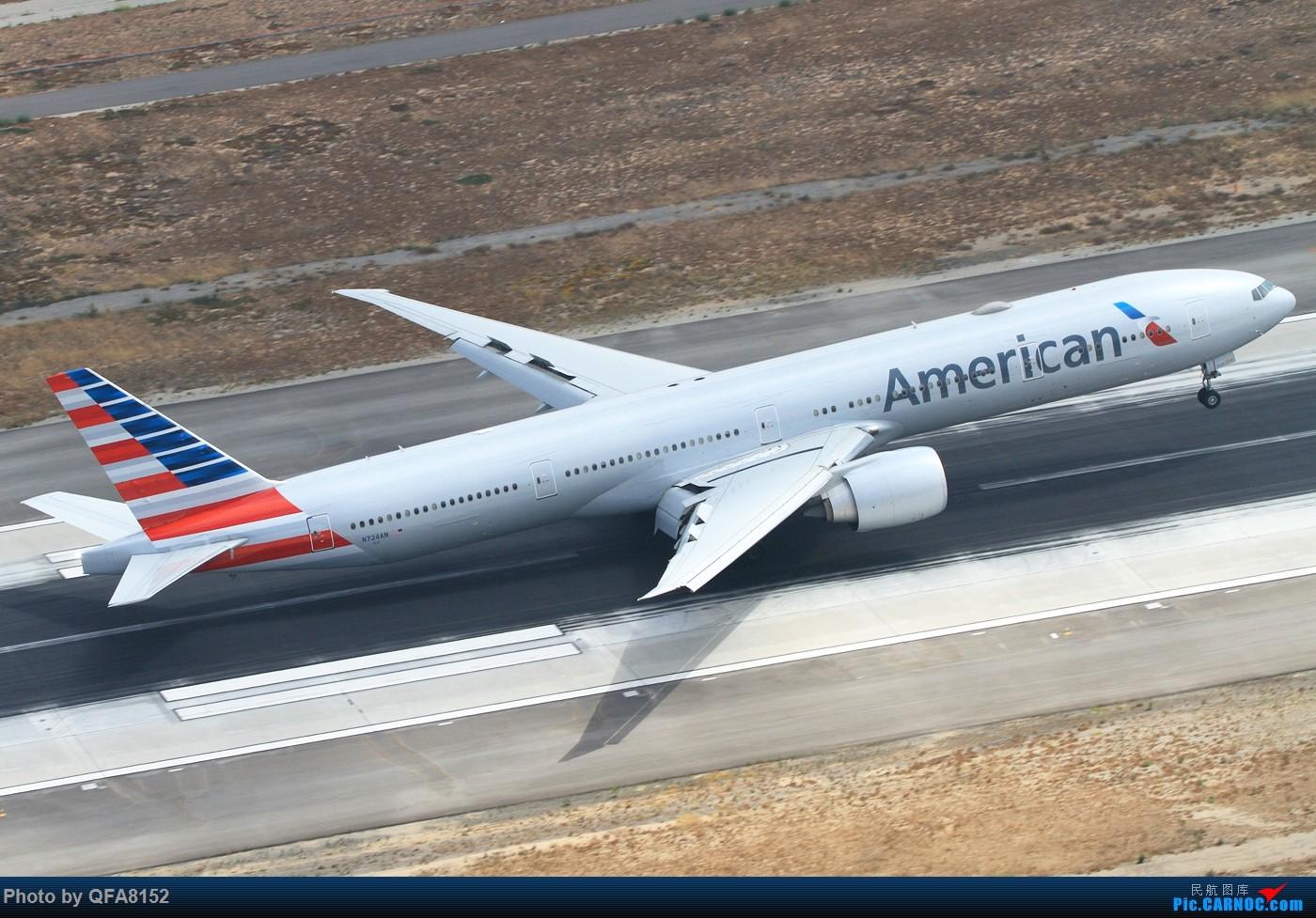 Re:[原创]也算是实现一个愿望了 BOEING 777-300ER N724AN 洛杉矶国际机场