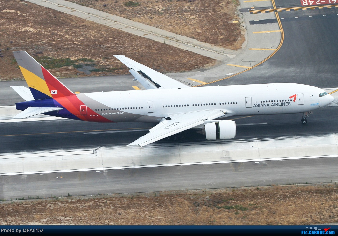 Re:[原创]也算是实现一个愿望了 BOEING 777-200ER HL7739 洛杉矶国际机场