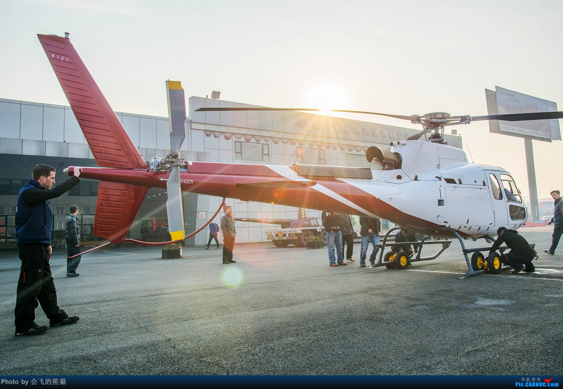 Re:[原创]玩玩 EUROCOPTER AS350B3 B-70DP 西林凤腾广汉机场