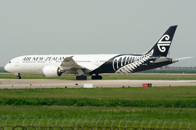Re:[原创]【PVG】梅雨天小拍 BOEING 787-9 ZK-NZC 中国上海浦东国际机场