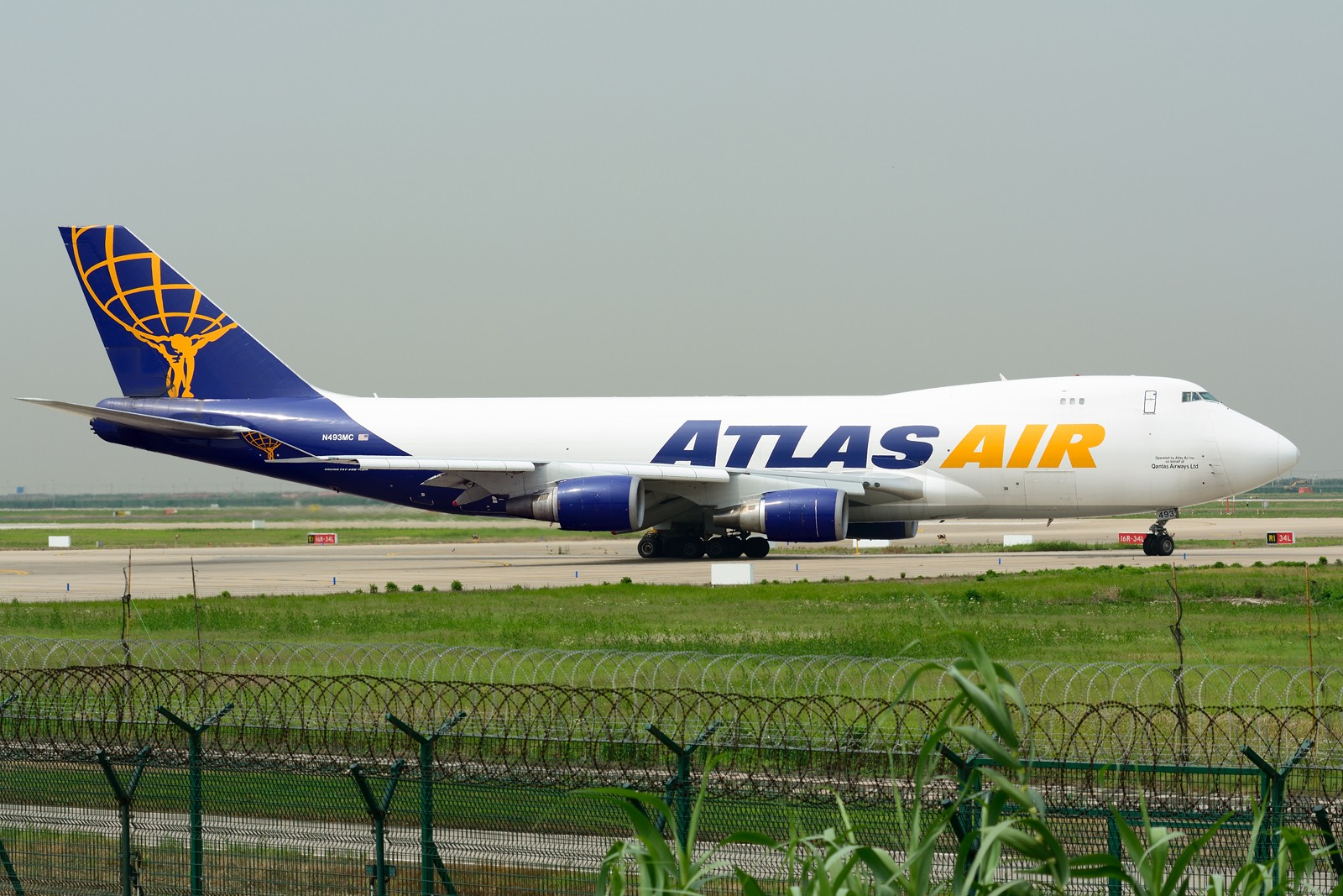 Re:[原创]【PVG】梅雨天小拍 BOEING 747-400F N493MC 中国上海浦东国际机场