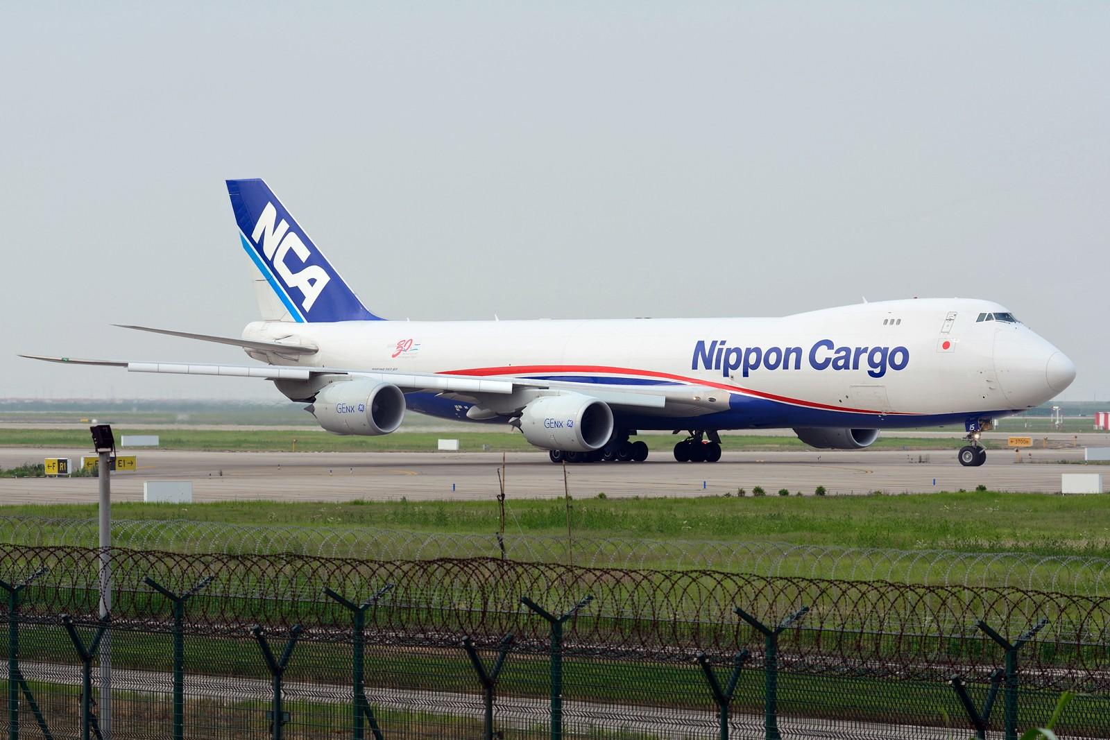 Re:【PVG】梅雨天小拍 BOEING 747-8F JA15KZ 中国上海浦东国际机场