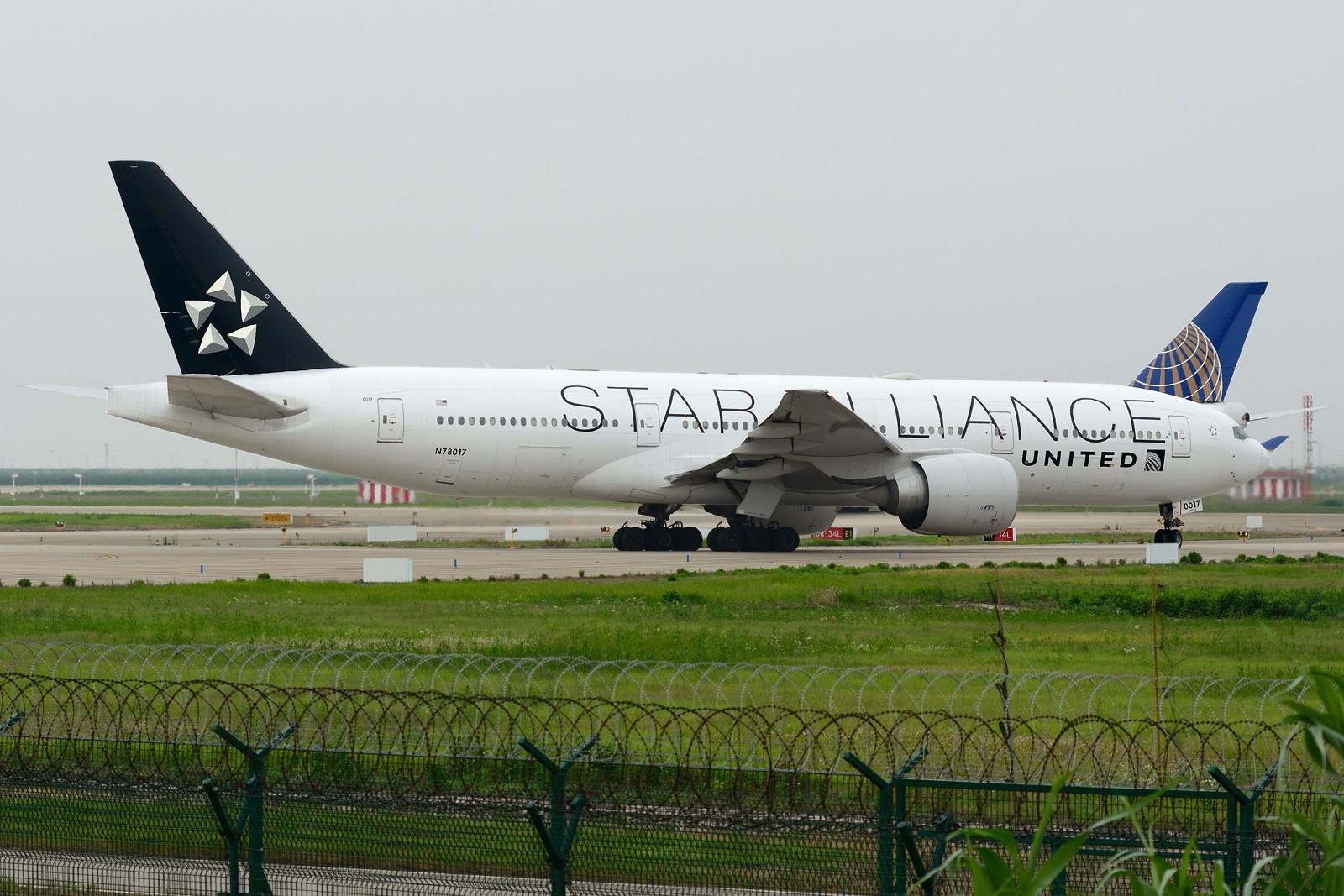 Re:[原创]【PVG】梅雨天小拍 BOEING 777-200ER N78017 中国上海浦东国际机场