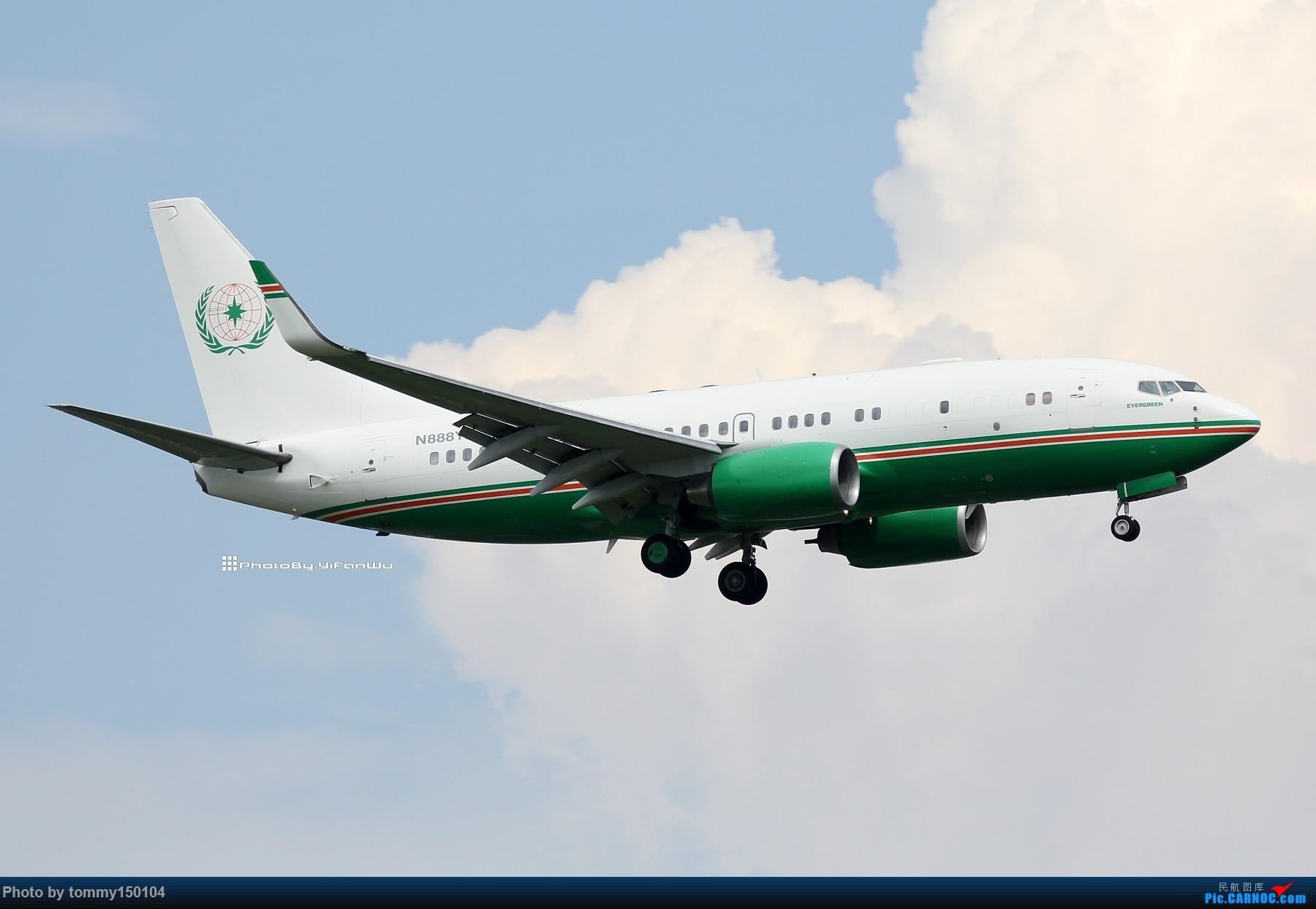 Re:[原创]【TPE】台北桃園降落一組!(找廣州或上海飛友帶路~) BOEING BBJ N888YF 中国台北桃园国际机场