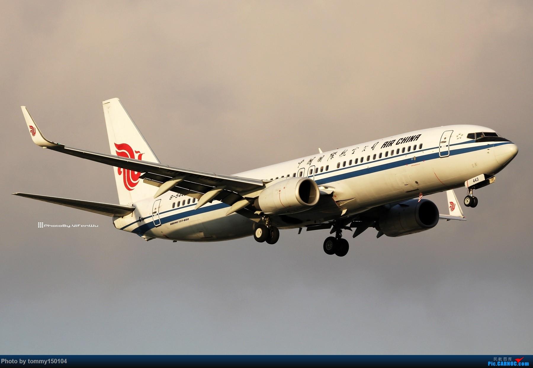 Re:[原创]【TPE】台北桃園降落一組!(找廣州或上海飛友帶路~) BOEING 737-800 B-5443 中国台北桃园国际机场