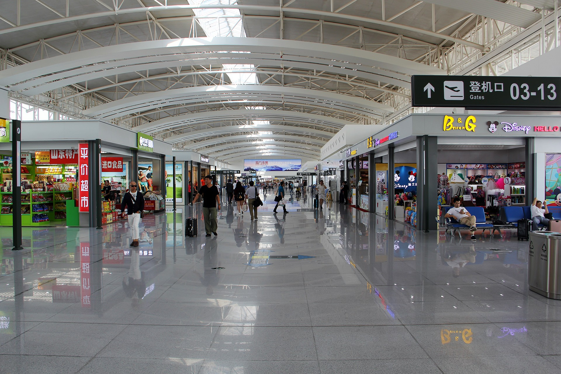 Re:[原创][原创][DLC]。。。绚丽甘肃 + 大美青海。。。    中国济南遥墙国际机场