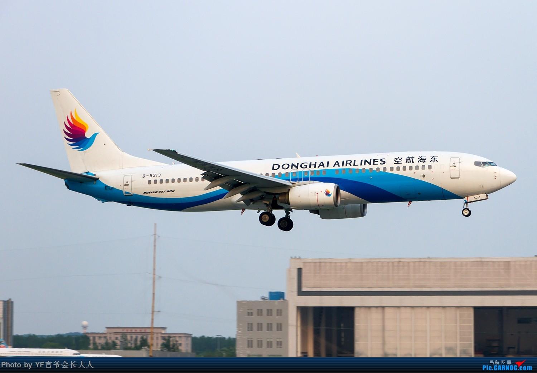 [原创]【ZYTX】最近又来了不少好货(新加坡货航,美联航319,七月份新来的红土航空,还有几个今年还没拍到的。) BOEING 737-800 B-5313 中国沈阳桃仙国际机场