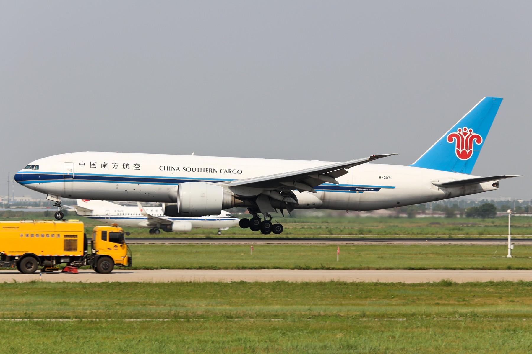 Re:[原创]【TSN飞友会】1800*1200 近期TSN集锦 不看绝对后悔 BOEING 777-200 B-2072 中国天津滨海国际机场