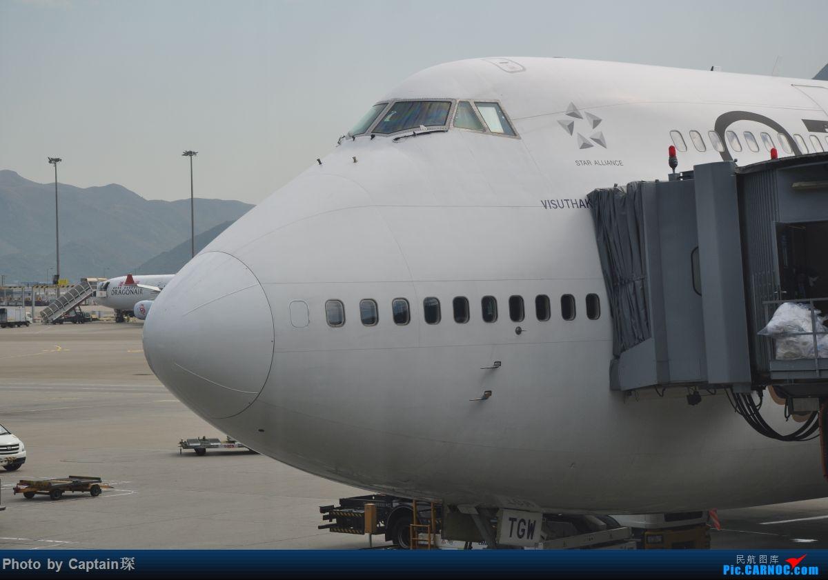 Re:[原创]重度拖延症之香港转机贴 BOEING 747-400  中国香港国际机场