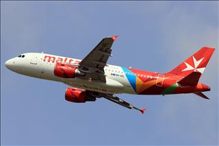 【AMS】一圖 馬耳他航空A319 1400大圖