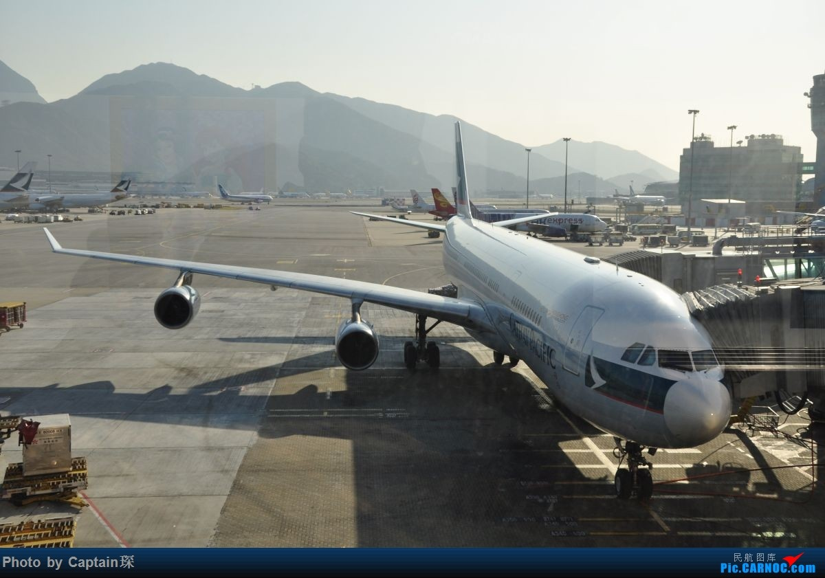 Re:[原创]重度拖延症之香港转机贴 AIRBUS A340-300  中国香港国际机场