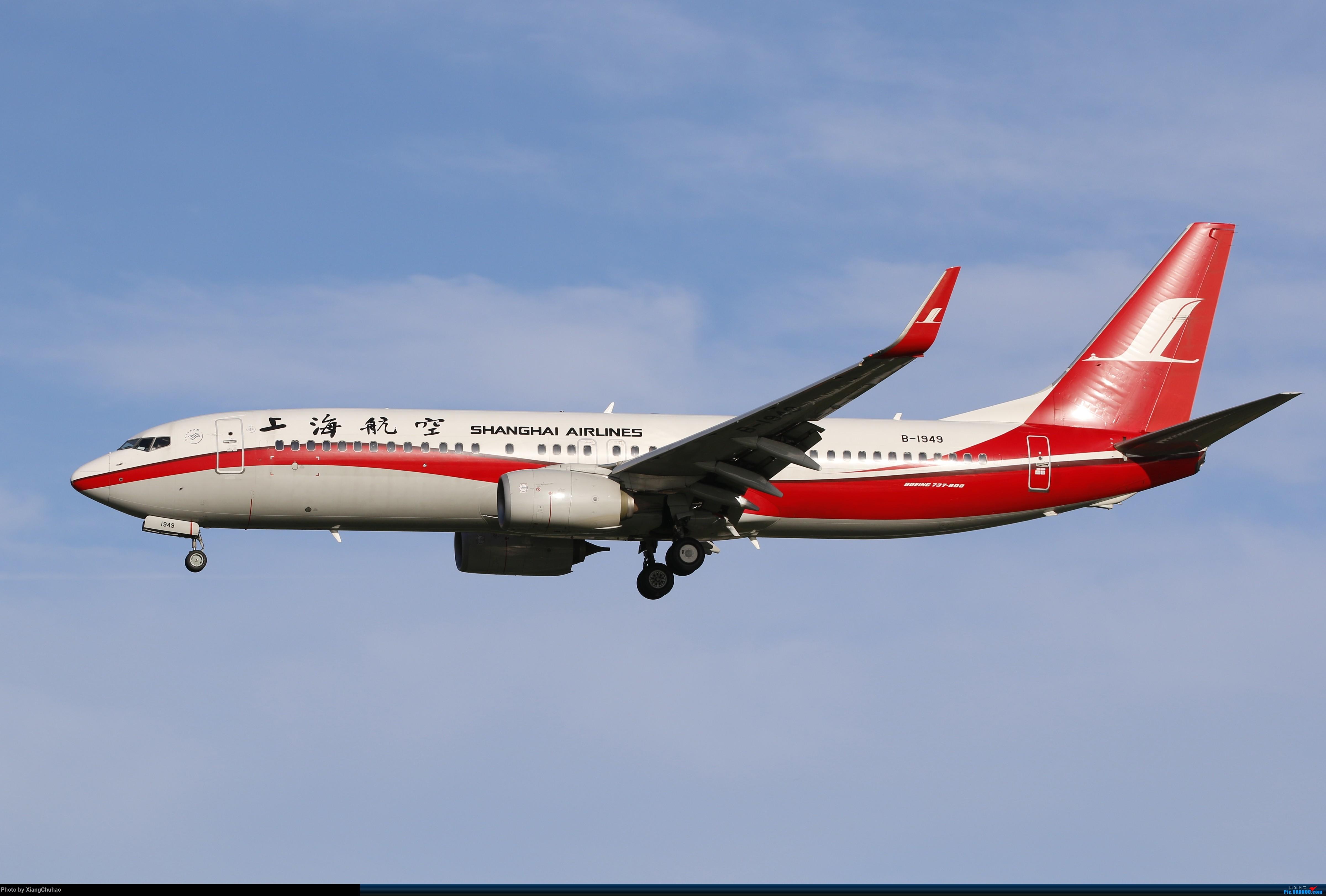 温州龙湾国际机场 BOEING 737-800 B-1949 中国温州龙湾国际机场