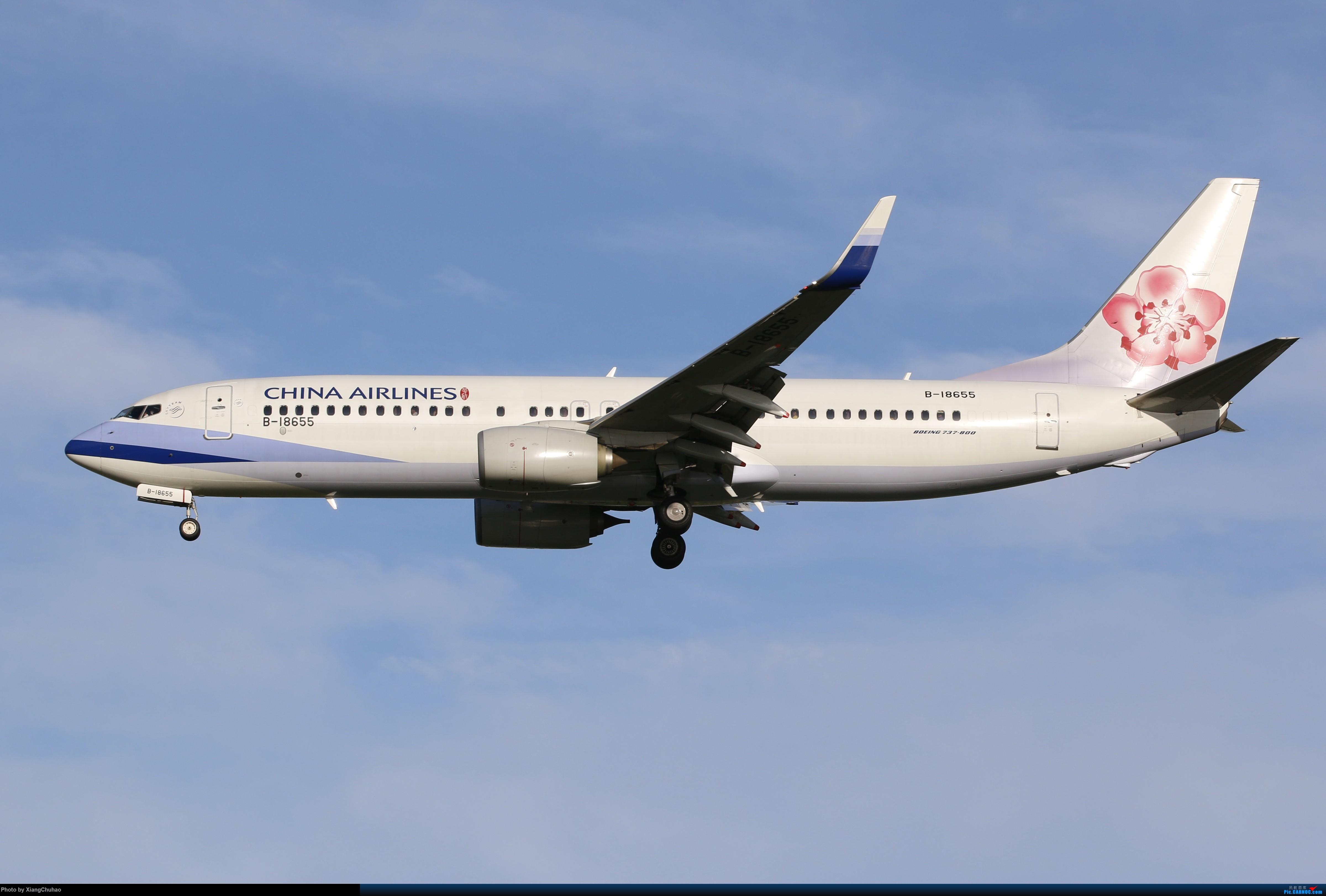 温州龙湾国际机场 BOEING 737-800 B-18655 中国温州龙湾国际机场