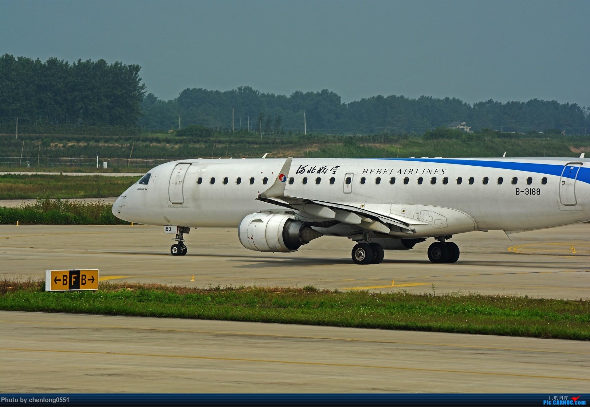 Re:[原创]【合肥飞友会】不经意的一次拍机解决了不少有无 EMBRAER E-190 B-3188 中国合肥新桥国际机场