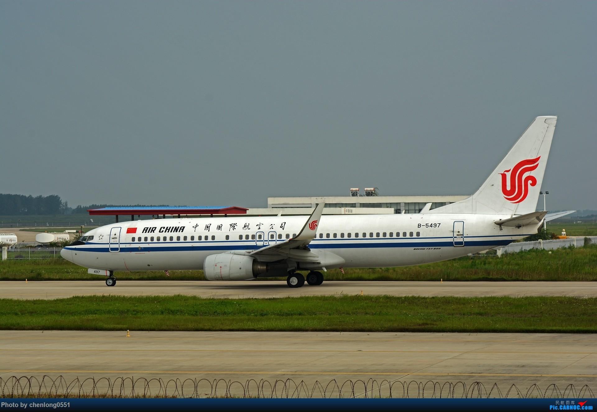 Re:【合肥飞友会】不经意的一次拍机解决了不少有无 BOEING 737-800 B-5497 中国合肥新桥国际机场