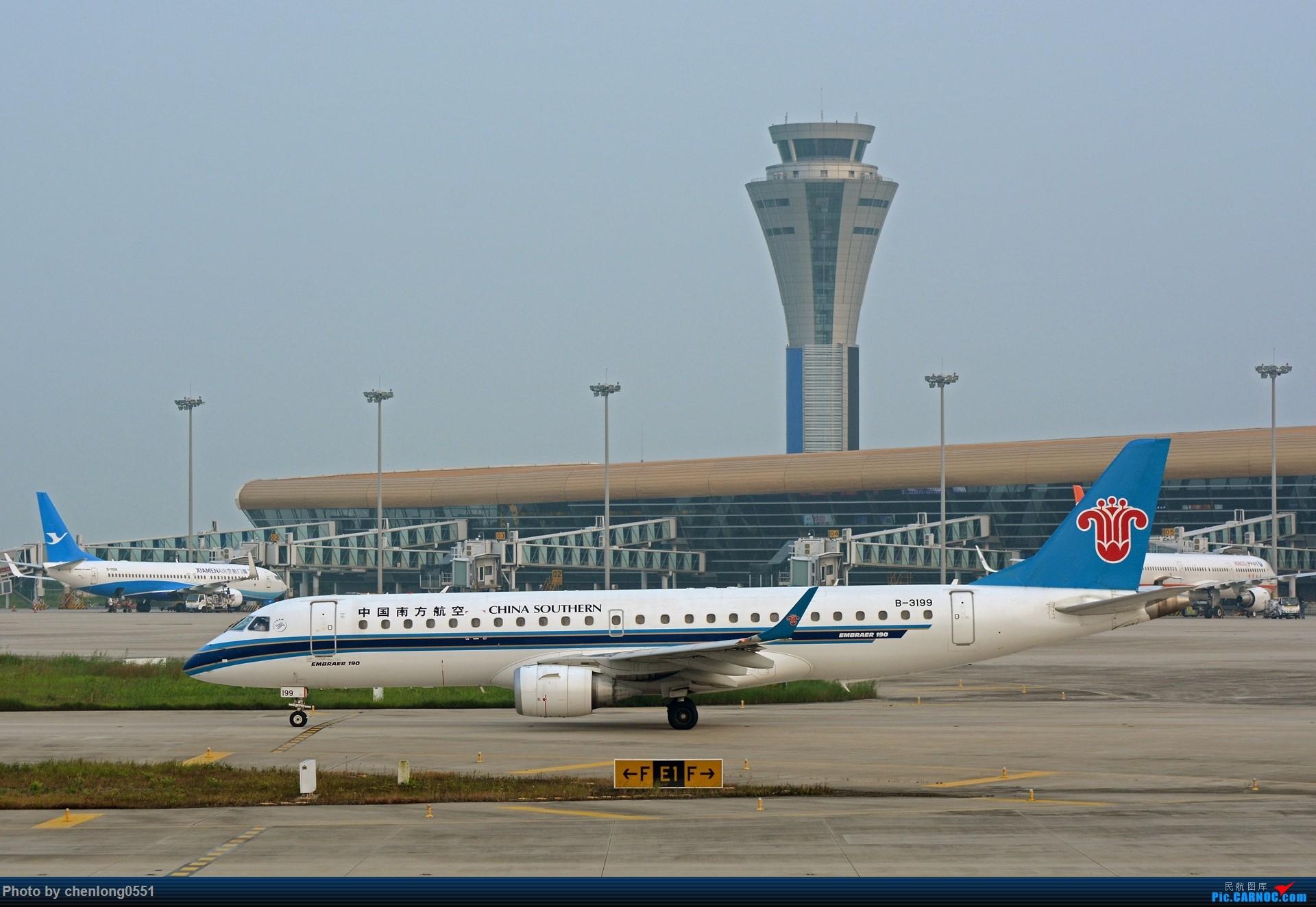 Re:[原创]【合肥飞友会】不经意的一次拍机解决了不少有无 EMBRAER E-190 B-3199 中国合肥新桥国际机场