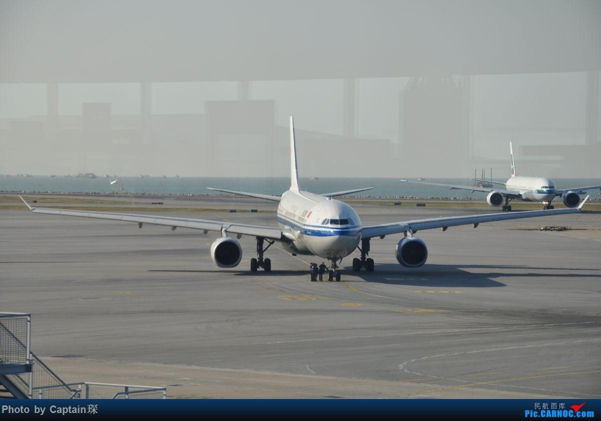 Re:[原创]重度拖延症之香港转机贴 AIRBUS A330-300 B-5913 中国香港国际机场