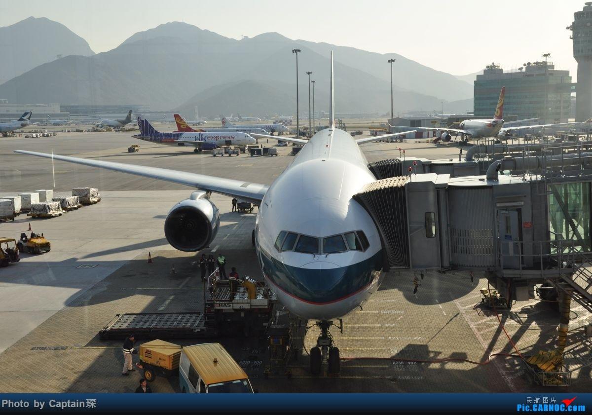 Re:[原创]重度拖延症之香港转机贴 BOEING 777-300ER  中国香港国际机场