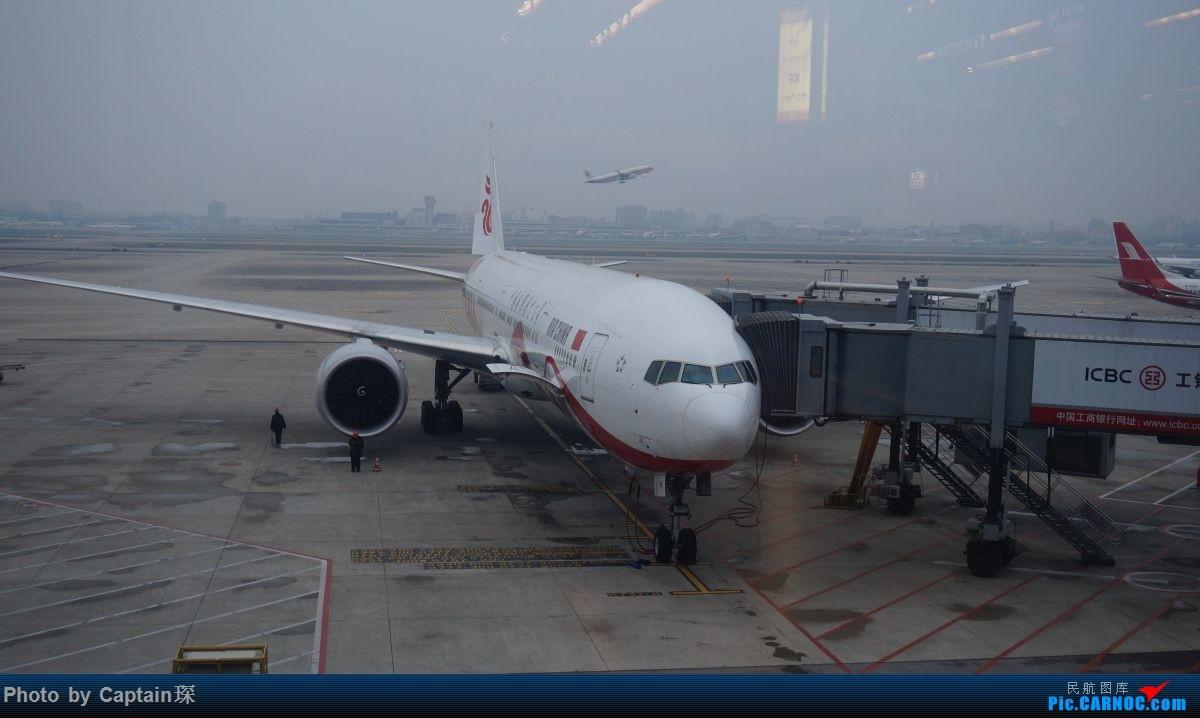 Re:[原创]SHA-FRA德国行 BOEING 777-300ER B-2036 中国上海虹桥国际机场