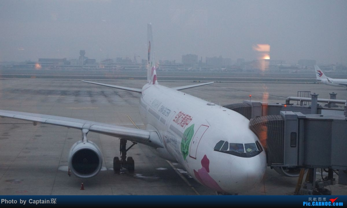Re:[原创]SHA-FRA德国行 AIRBUS A330-200 B-6123 中国上海虹桥国际机场