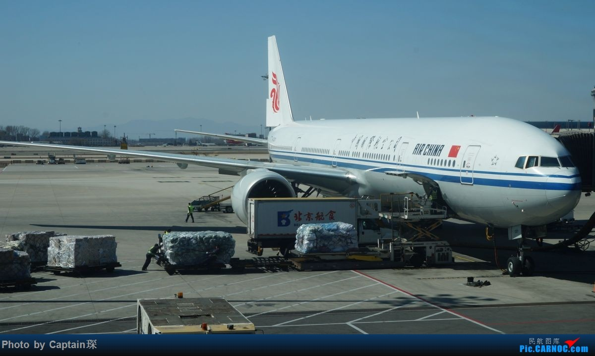 Re:[原创]SHA-FRA德国行 BOEING 777-300ER B-2031 中国北京首都国际机场