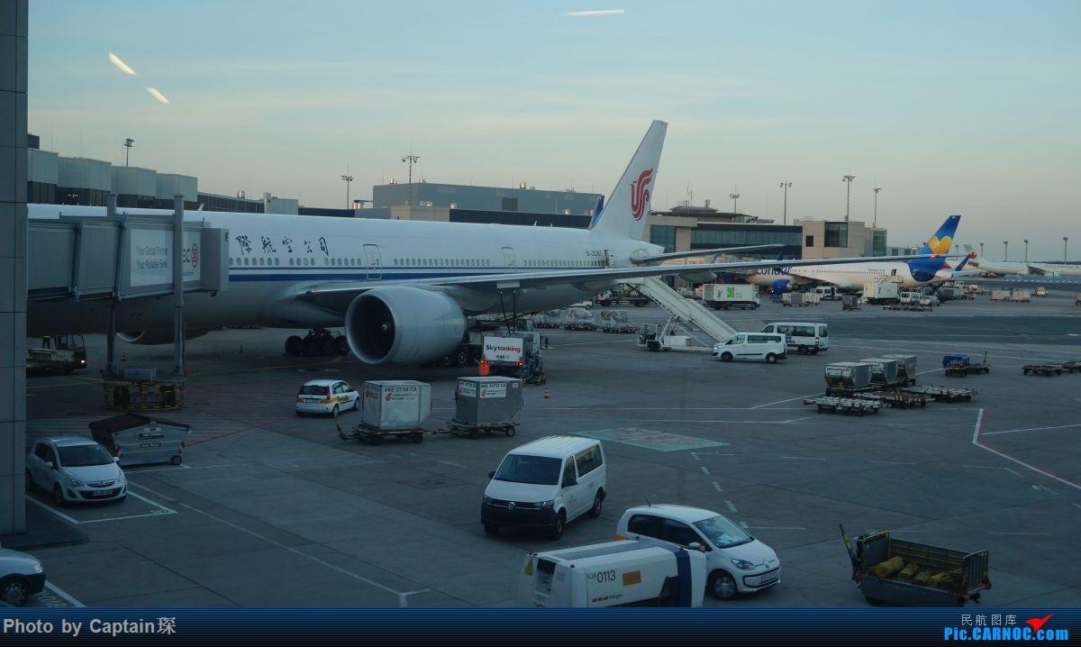 Re:[原创]SHA-FRA德国行 BOEING 777-300ER B-2087 德国法兰克福机场