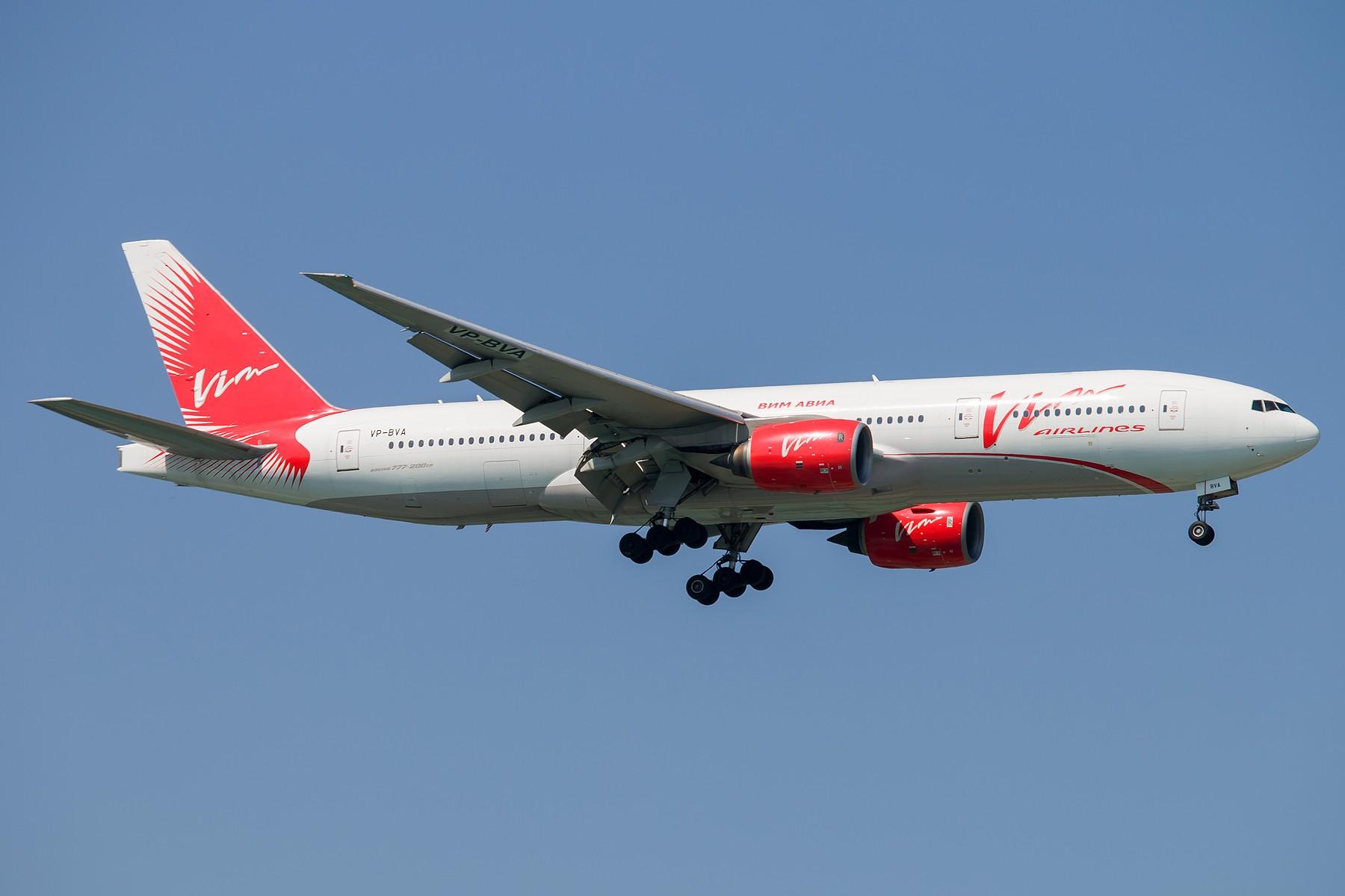 [原创][一图党] VIM 1800*1200 BOEING 777-200ER VP-BVA 中国北京首都国际机场
