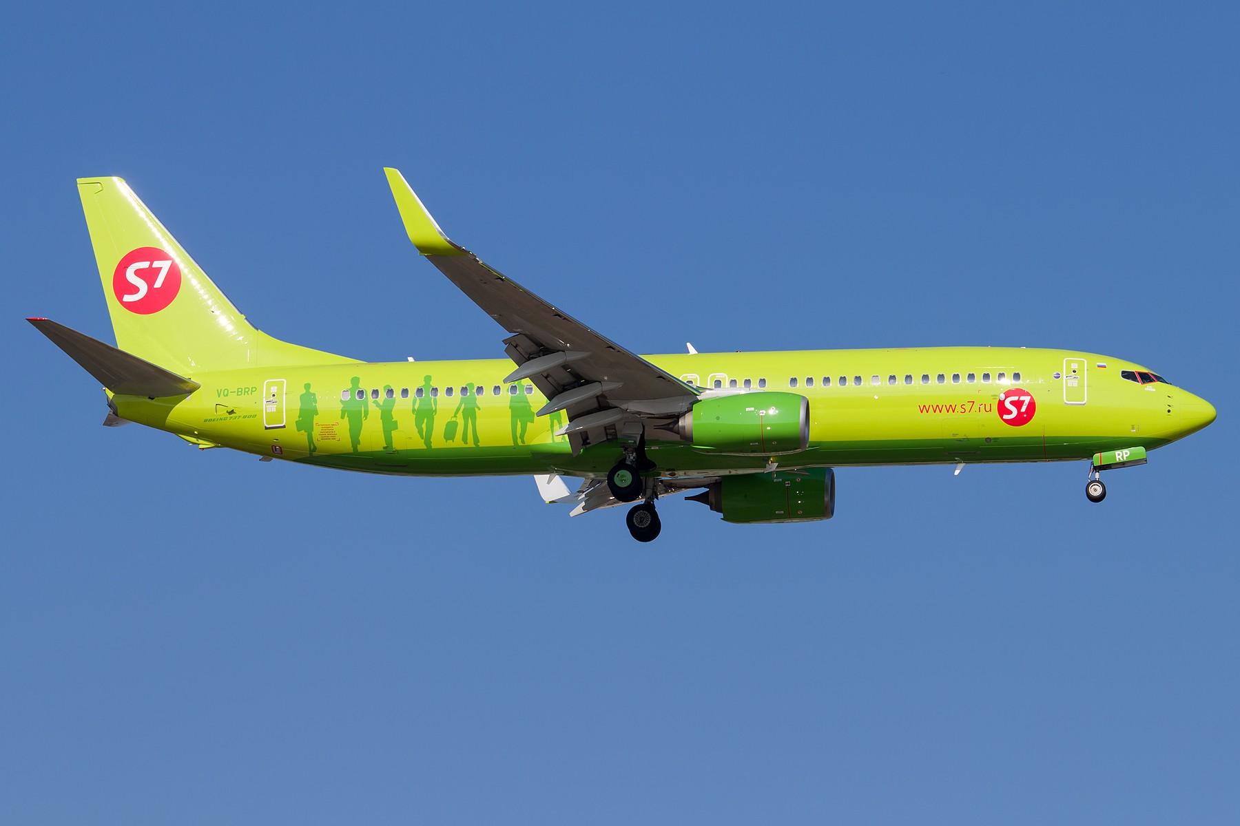 [原创][一图党] 绿 1800*1200 BOEING B737-800 VQ-BRP 中国北京首都国际机场