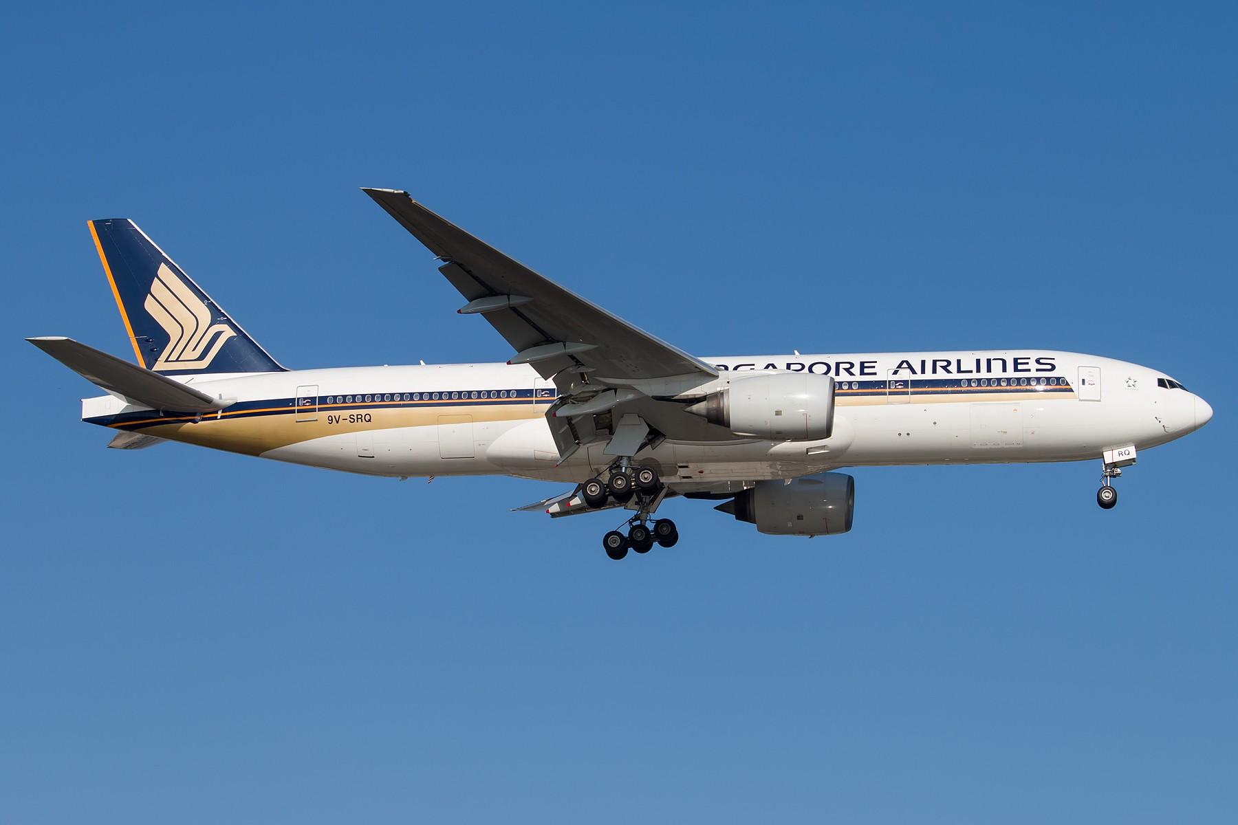 Re:[原创]亮亮哒 1800*1200 [5pics] BOEING B777-200ER 9V-SRQ 中国北京首都国际机场