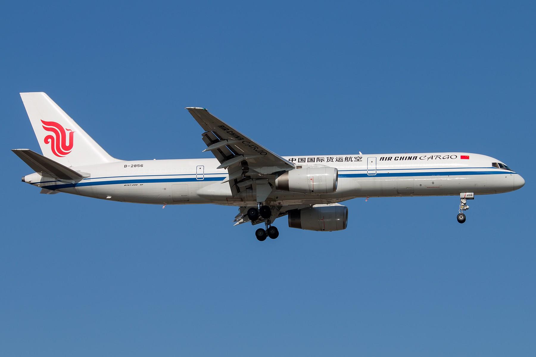 Re:[原创]亮亮哒 1800*1200 [5pics] BOEING 757-200F B-2856 中国北京首都国际机场