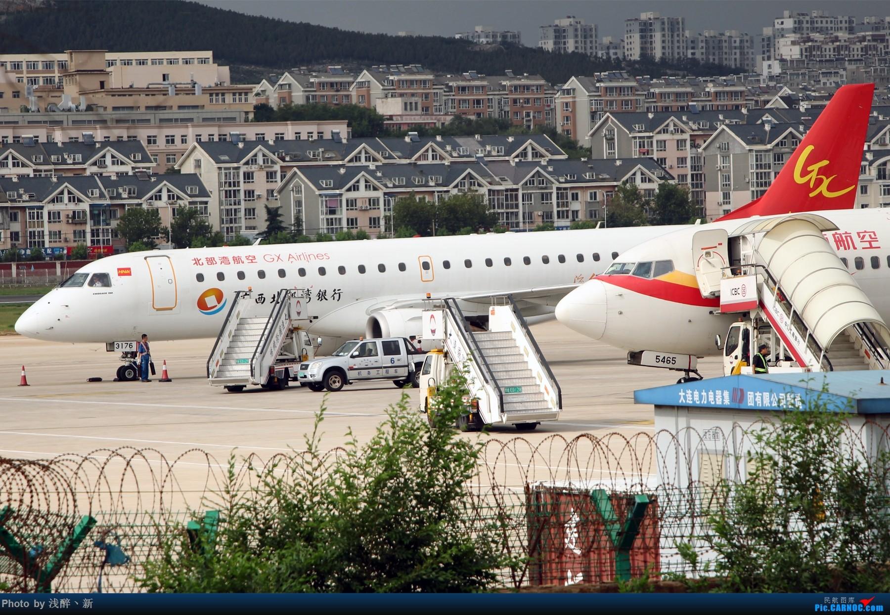 Re:[原创]DLC 7.16 机场游击战 EMBRAER E-190 B-3176 中国大连国际机场