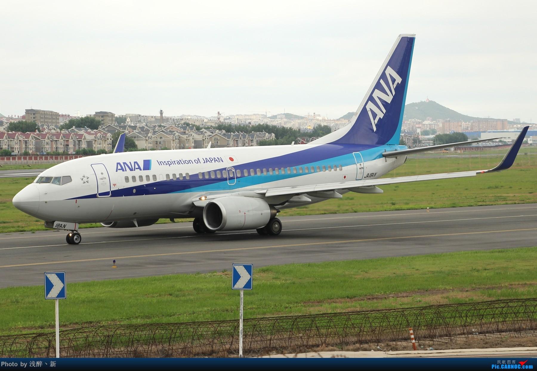 Re:DLC 7.16 机场游击战2 BOEING 737-700 JA18AN 中国大连国际机场