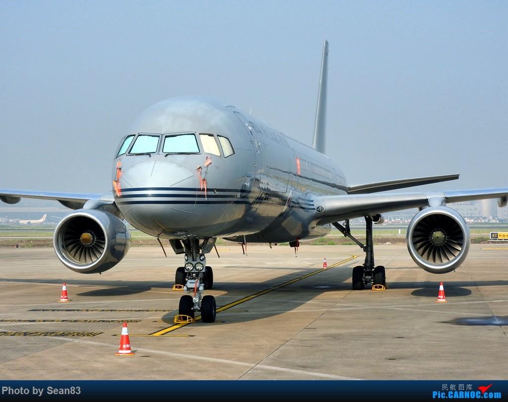 [原创](上海飞友)天太热,只能在家看看飞机 BOEING 757-200