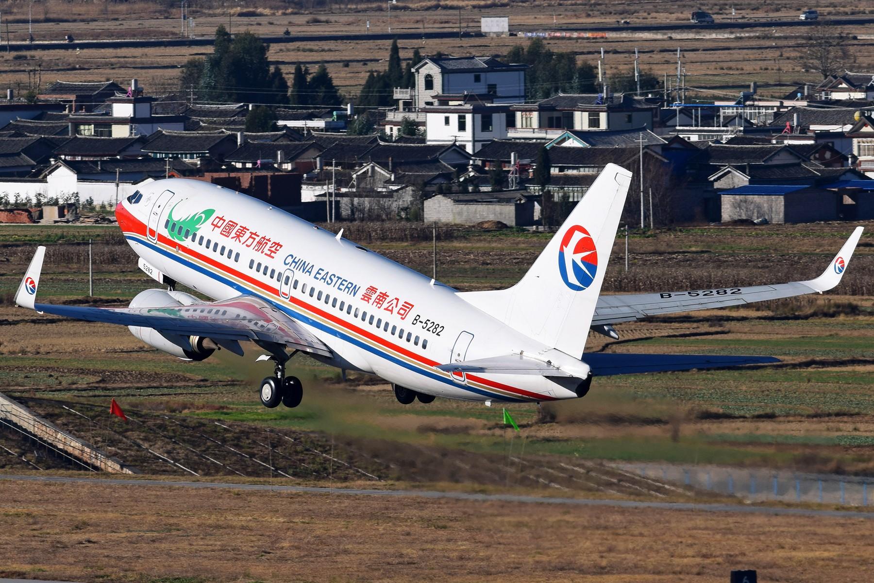 Re:[原创]补发的拍机游记---Day Trip for 丽江三义 BOEING 737-700 B-5282 中国丽江三义机场