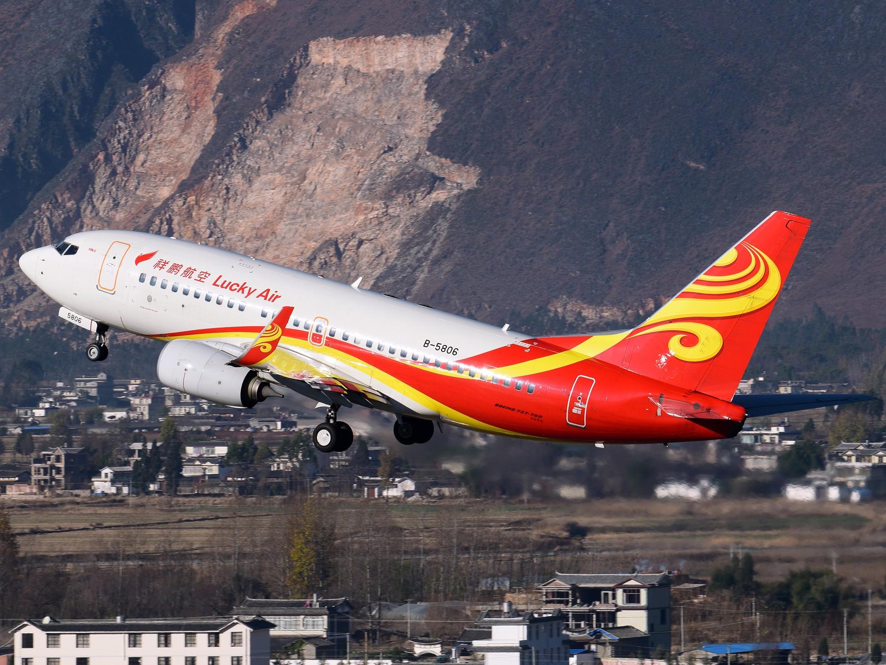 Re:[原创]补发的拍机游记---Day Trip for 丽江三义 BOEING 737-700 B-5806 中国丽江三义机场