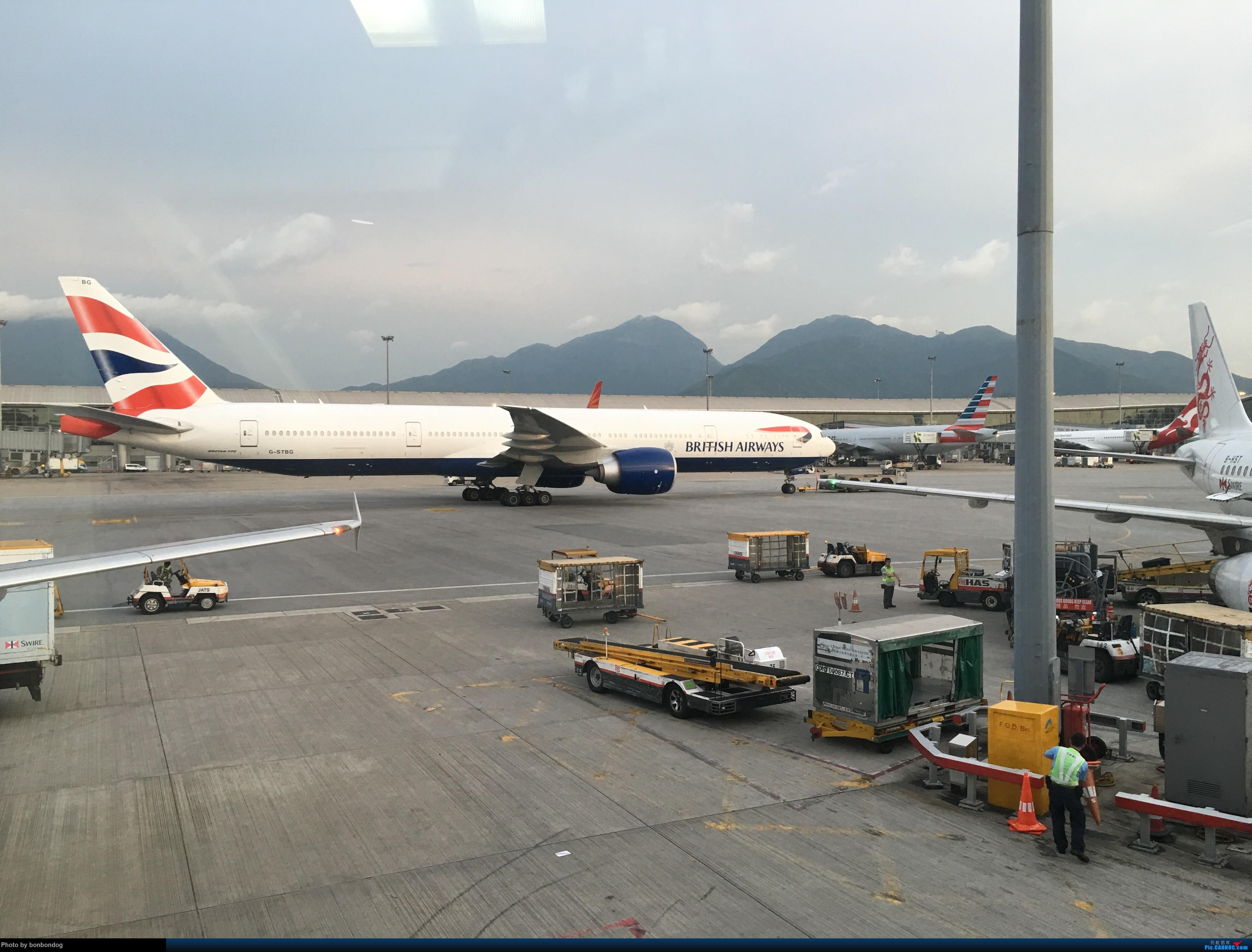 Re:[原创]不知道怎么贴多张图片,只好又来了 77W G-STBG 中国香港国际机场