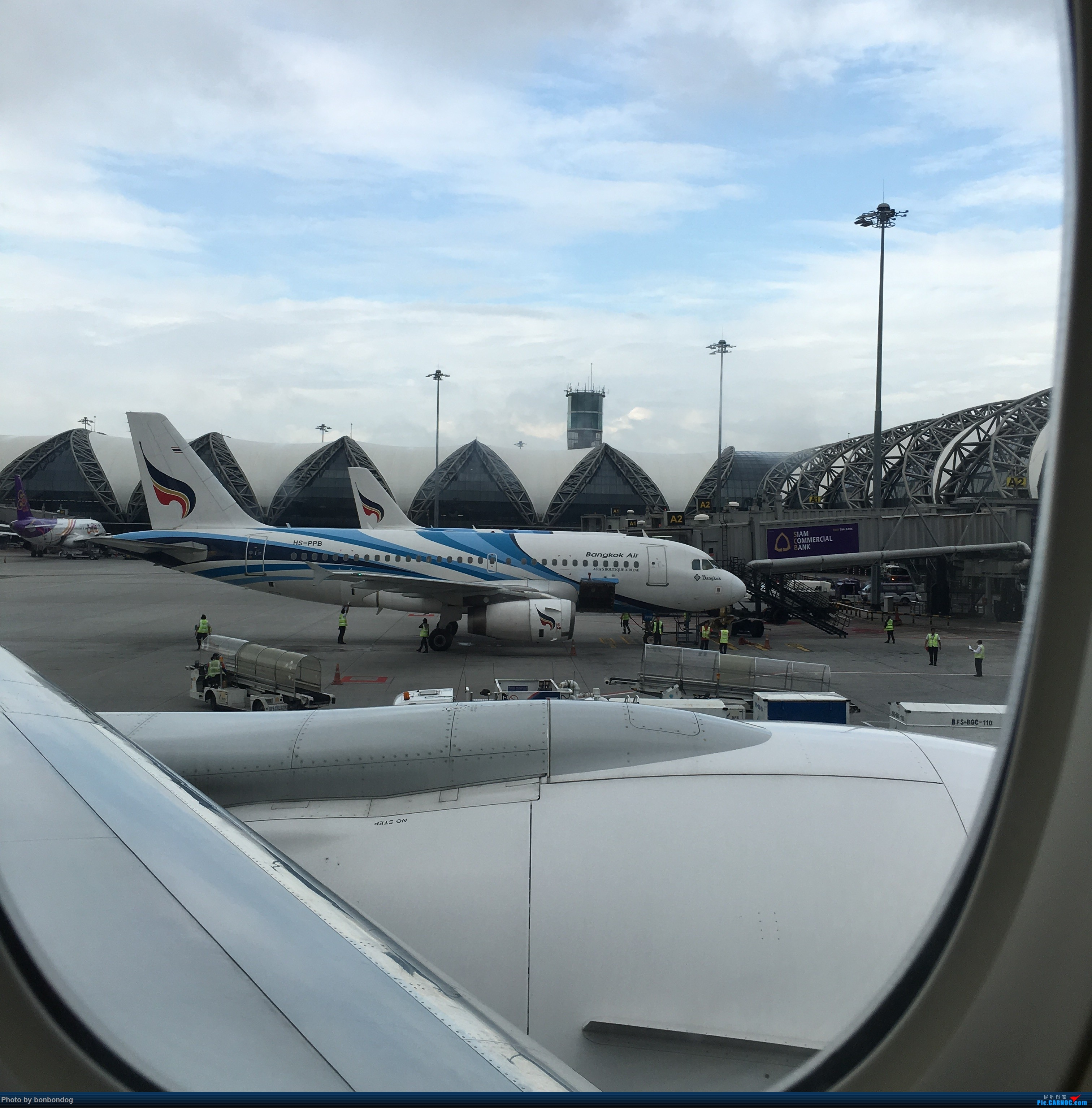 Re:[原创]不知道怎么贴多张图片,只好又来了 320 HS-PPB 泰国曼谷素万那普国际机场