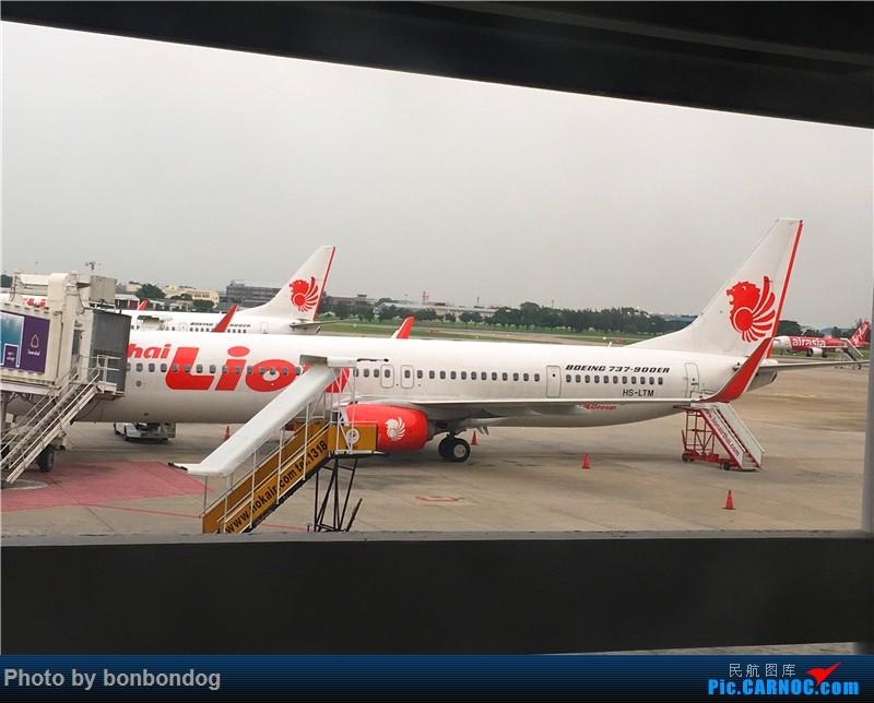 Re:[原创]重新发 重新发 CTU HKG BKK CNX URT NST 全部手机 渣像素 勿喷 BOEING 737-800 HS-LTM 泰国曼谷廊曼国际机场