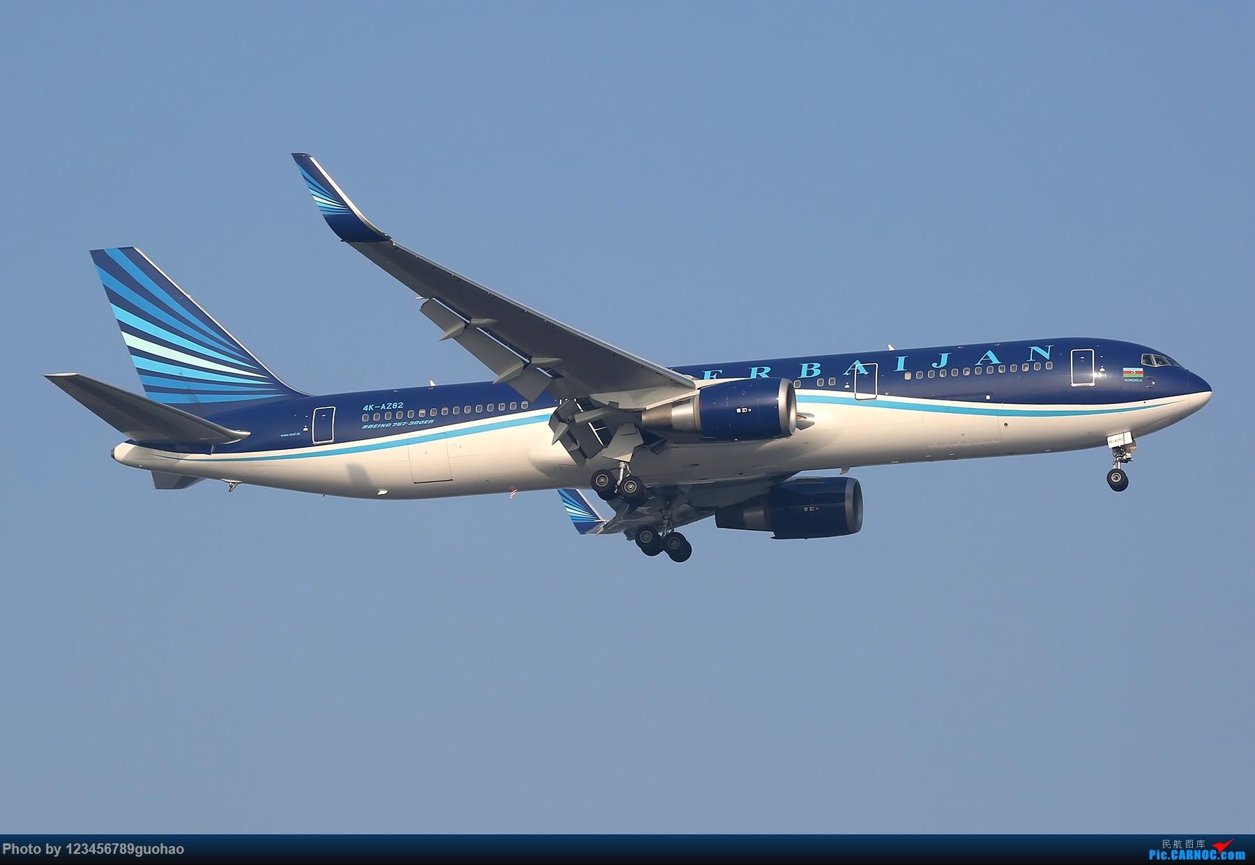 一图党-阿塞拜疆 BOEING 767-300ER 4K-AZ82 北京首都机场