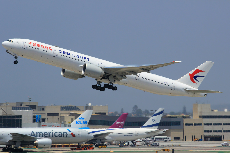 [原创]突然就想发个帖 BOEING 777-300ER B-2001 美国洛杉矶机场
