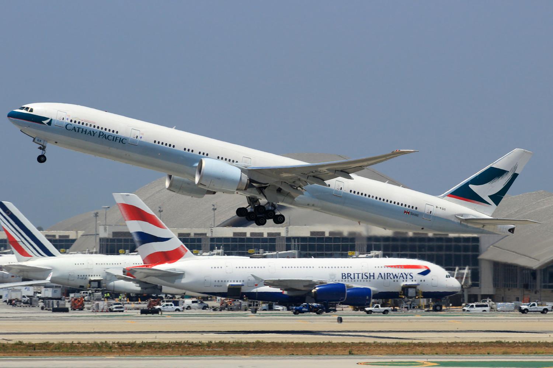 Re:[原创]突然就想发个帖 BOEING 777-300ER B-KQS 美国洛杉矶机场