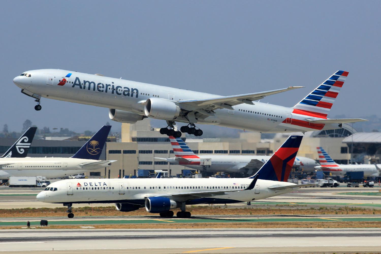 Re:[原创]突然就想发个帖 BOEING 777-300ER N718AN 美国洛杉矶机场